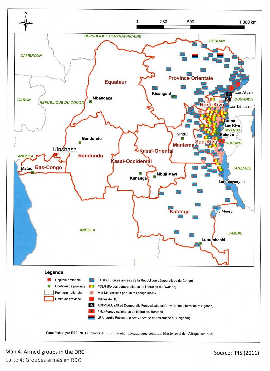 Military Positions Congo War