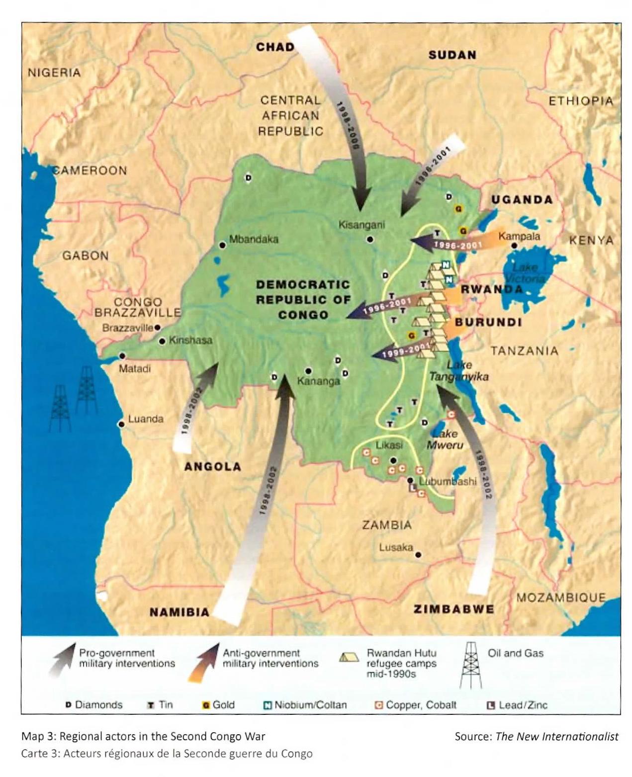 Maps of rebels old new in the drc rachel strohm regional actors congo war publicscrutiny Image collections