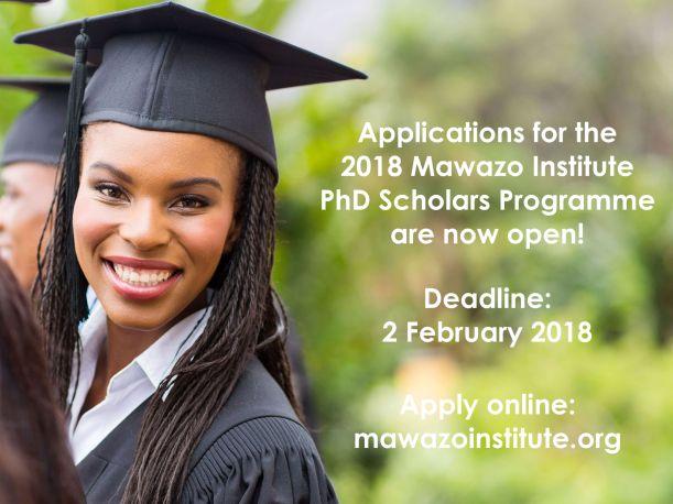 Mawazo PhD Scholars 2018